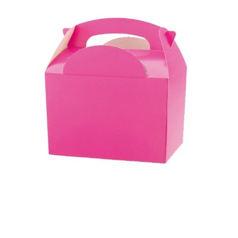 Bright Pink Meal Party Box